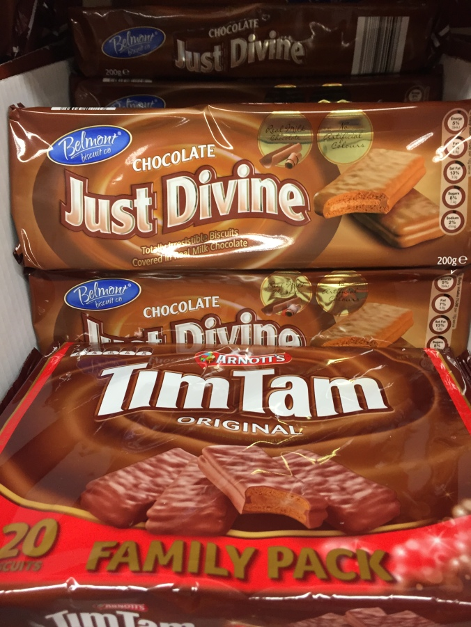 Just Divine copying Arnott's Tim Tam
